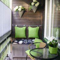 Обустройство балкона в современной квартире