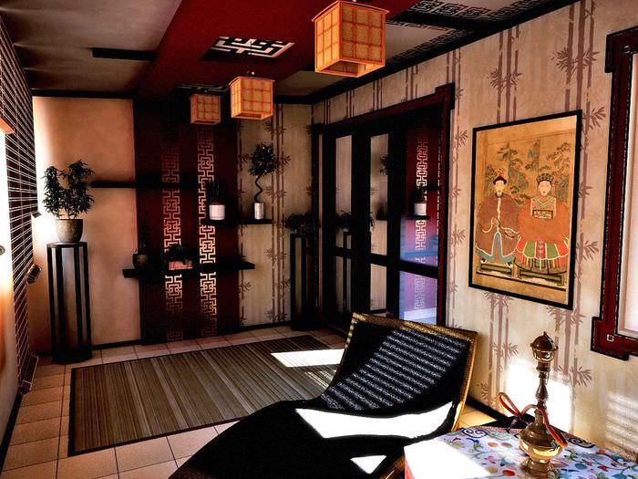 Картинки интерьер дома в китае