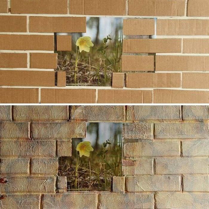 студии время декор стен под кирпич своими руками фото холода знатная оттепель