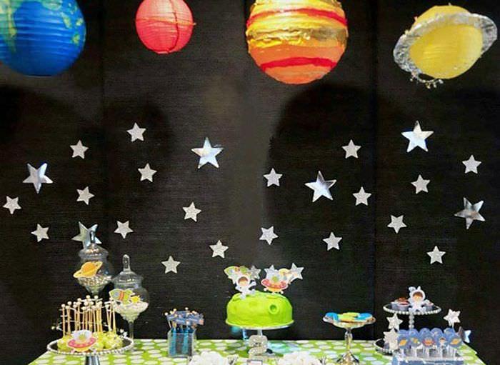 Декорация Звездное небо для украшения комнаты ребенка