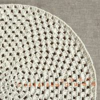Количество рядов на вязаном коврике