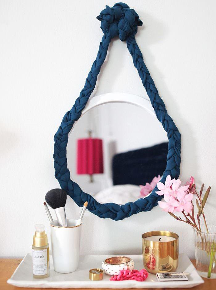 Оригинальная рамка для подвесного зеркала