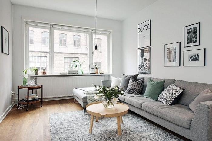 Серый диван в интерьере: универсальное решение стильного дизайна