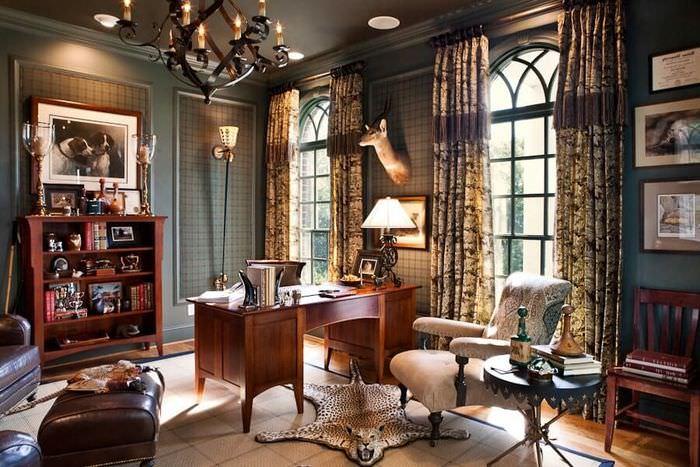 Декор комнаты в колониальном стиле
