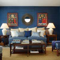 Декоративные подушки в оформлении интерьера гостиной