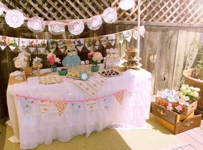 Декорирование детского стола на день рождения