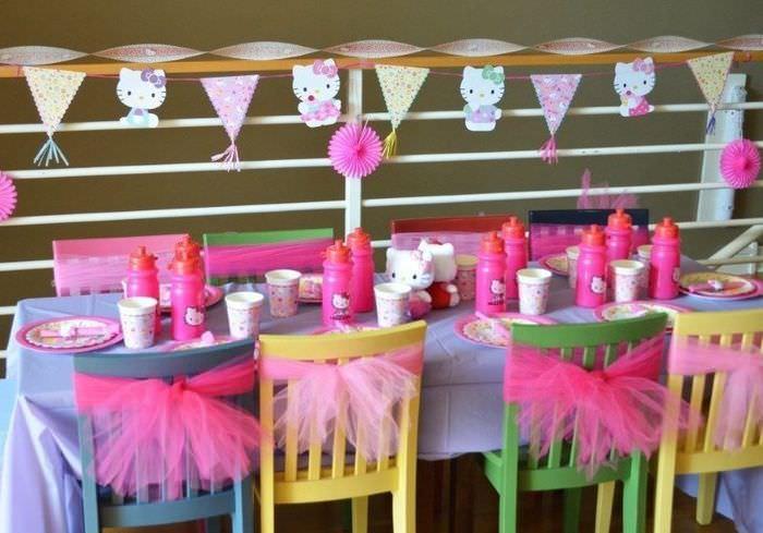 Украшение детских стульчиков на день рождения