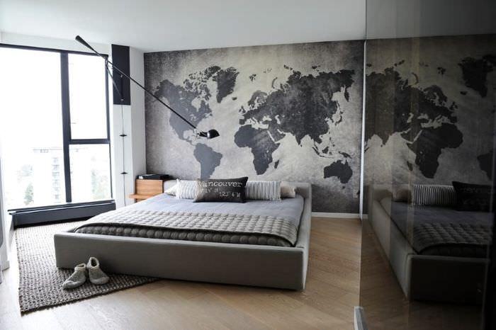 Дизайн спальни в двухкомнатной квартире 60 кв метров
