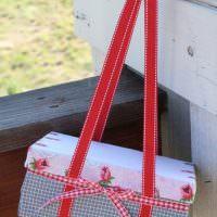 Красивая сумочка из обувной коробки
