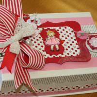 Подарочная коробка для любимой дочери
