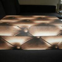 Декорирование коробки искусственной кожей