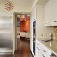 Нержавеющая сталь в интерьере кухни