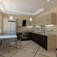 Дизайн кухни с угловой планировкой