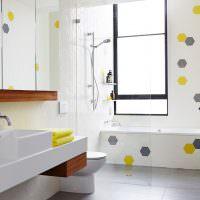 Оформление ванной комнаты в стиле минимализма