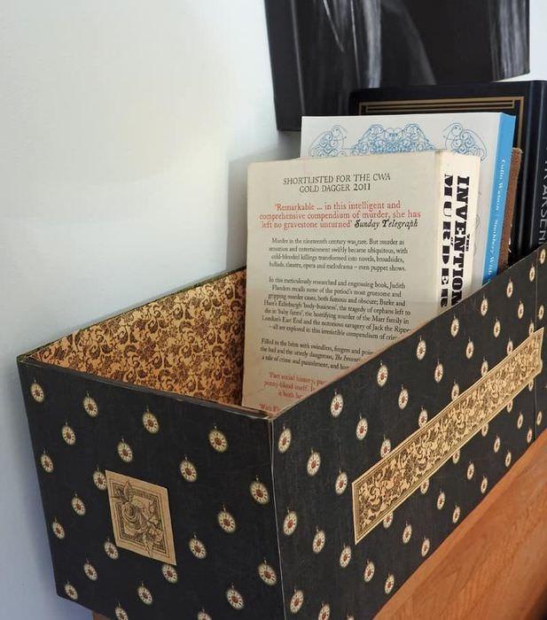 Декоративная коробка для книг своими руками