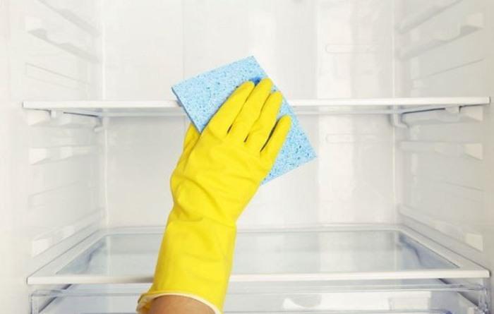 Холодильник нужно мыть несколько раз в месяц.