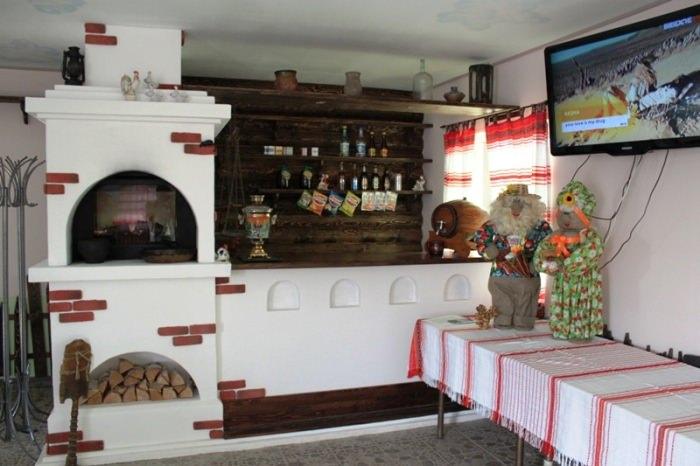 Кухня по русски.