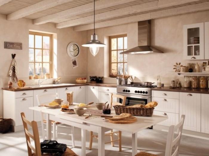 Деревенская кухня.
