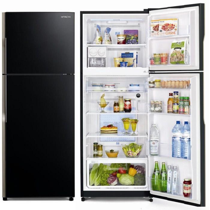 Холодильник с двумя камерами.