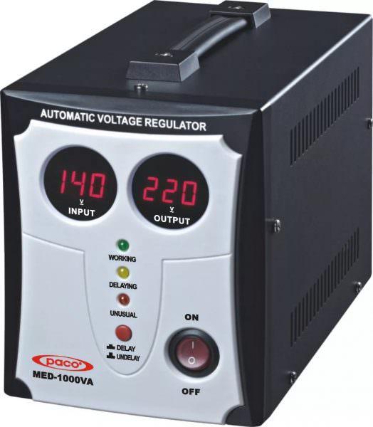Это устройство повышает низкие показатели электропитания, а высокие понижает до должных результатов.