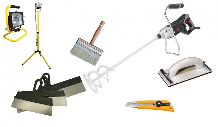 Инструменты для окраски.