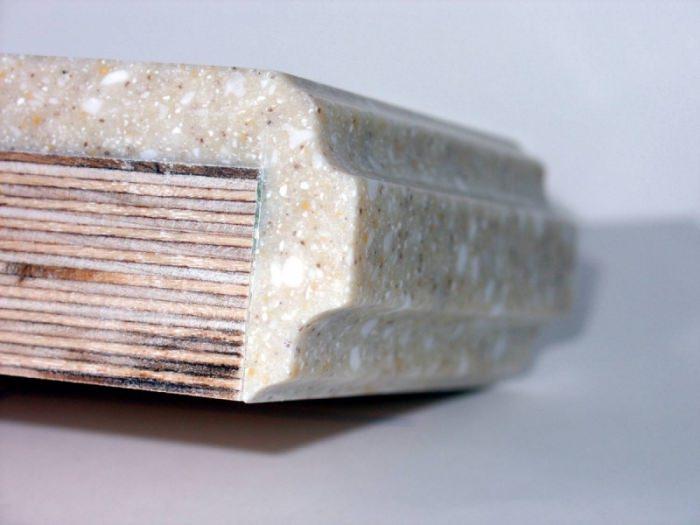 Плюсы столешниц из жидкого камня.