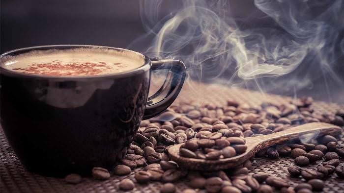 Аромат кофе из джезве.