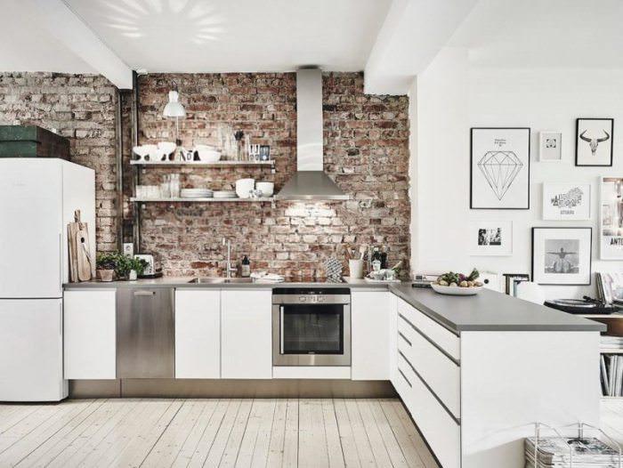 Дорогие стили на кухне.