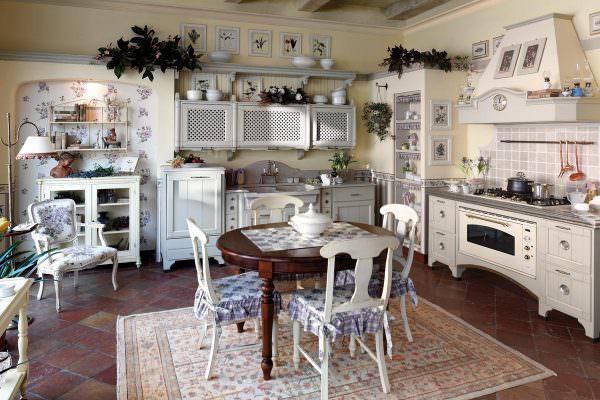 Кухня в стиле прован