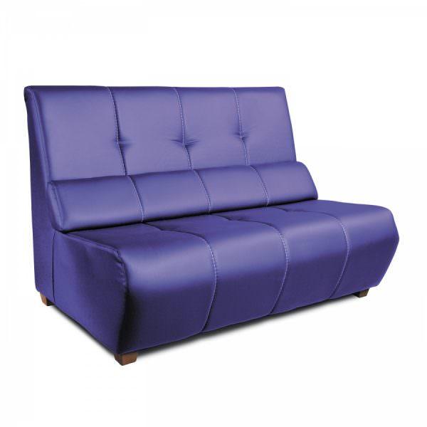 Яркий и стильный кухонный диван