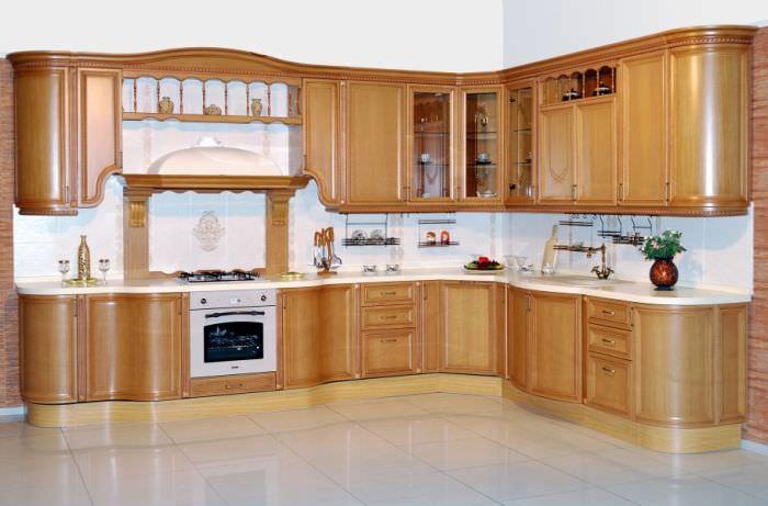 Высота кухонной мебели.