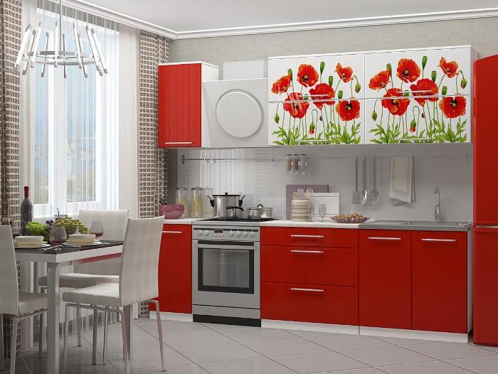 Дизайн кухонного гарнитура.