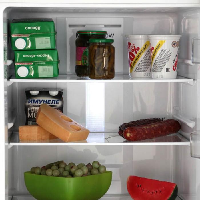 продукты в холодильниках Ноу Фрост.