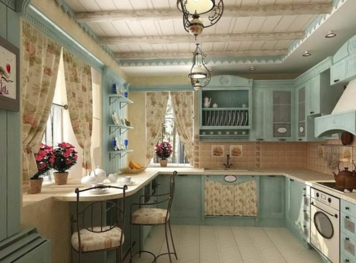 Кухня прованс.