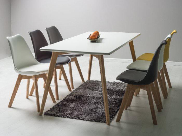 Стандартная форма стола.