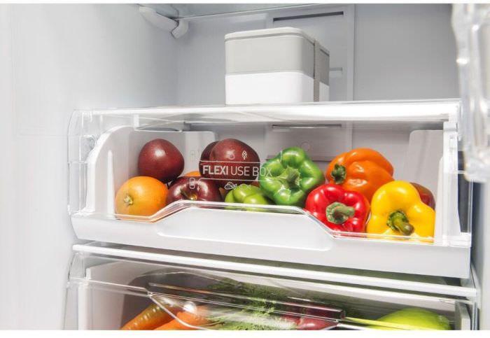 Овощи в холодильнике Лов Фрост.