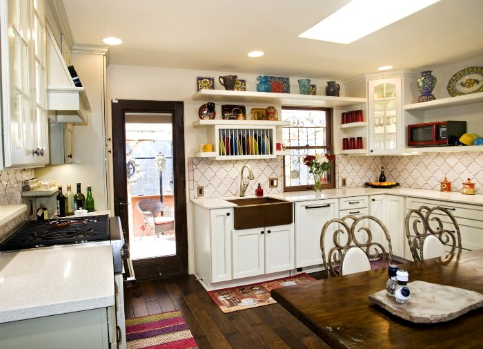Кухня в ретро стиле.
