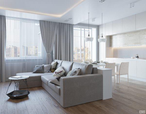угловой диван для кухни с мягким наполнителем