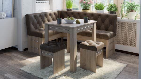 Покупая диван на кухню, сразу определитесь с его предназначение