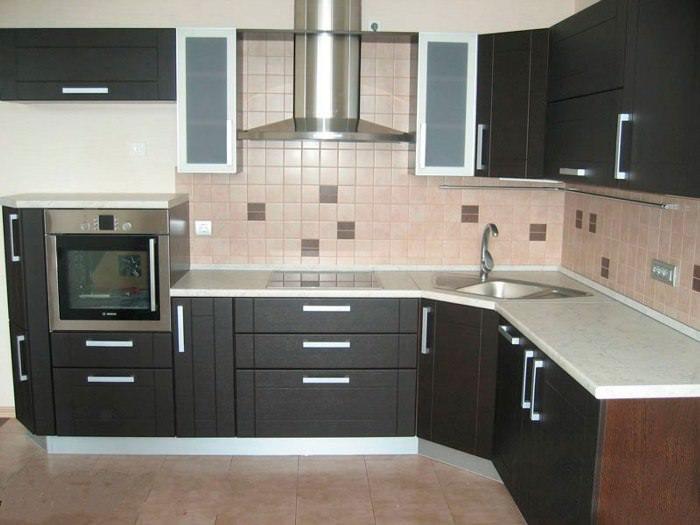 Высота нижнего ряда кухонной мебели.