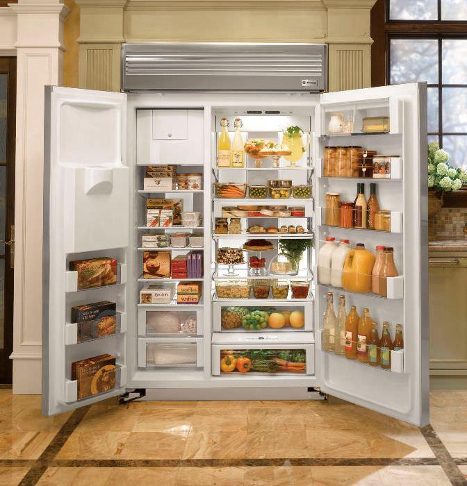 Плюсы и минусы встроенных холодильников.