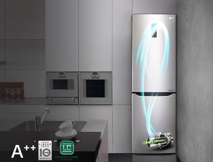 Инверторный холодильник.