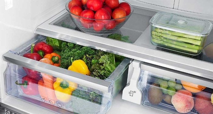 Зона свежести в холодильниках.