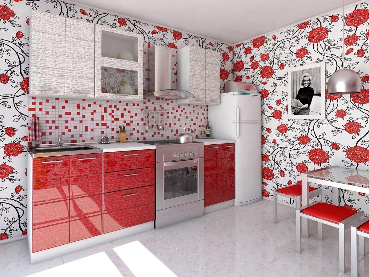 привыкли тому, кухонные обои с красным рисунком фото каталоги запись данной