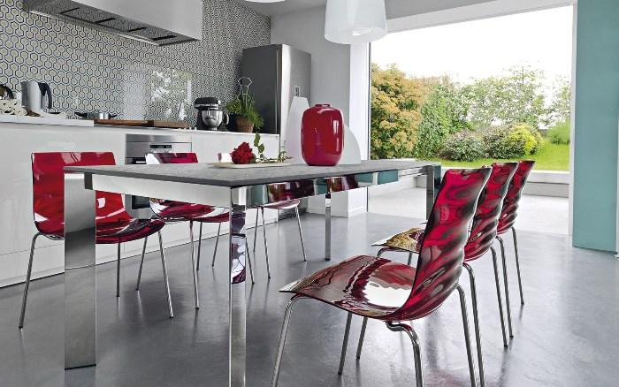 Размер кухонных стульев.