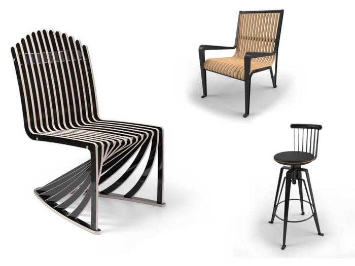 Виды дизайнерских стульев