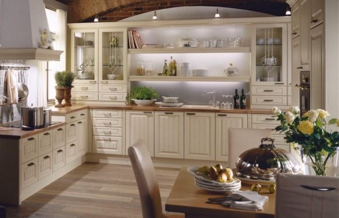 Г-образная кухня.