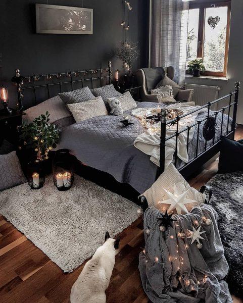 Коврик с ворсом дополнит интерьер вашей спальни