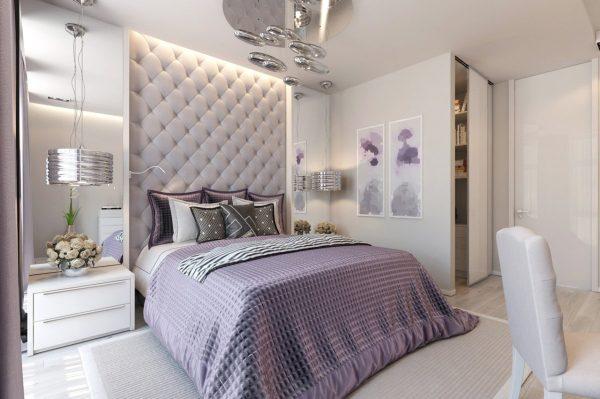 Светодиоды отлично впишутся в интерьер любой спальни
