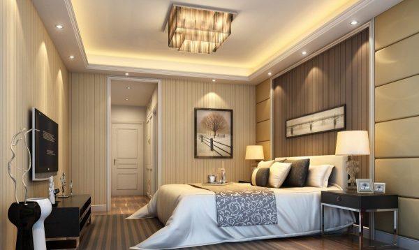 Сценарии освещения могут быть разными. Для этого необходимо продумать возможность менять степень яркости света в комнате.